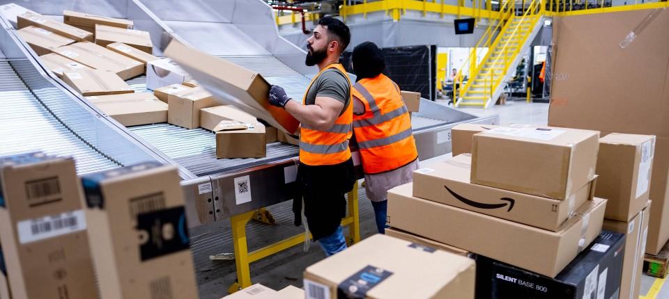Streiks bei Amazon haben begonnen