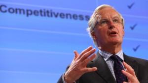 Barnier: Höhepunkt der Schuldenkrise überwunden