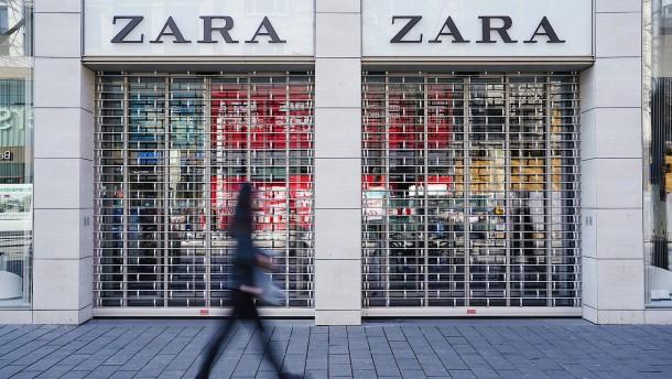 Inditex will kleinere Läden schließen