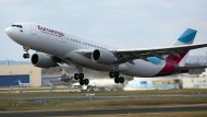 Eurowings-Flugbegleiter streiken ab Donnerstag