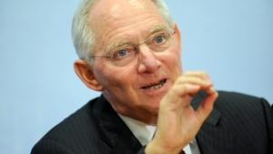 Schäuble macht mit Trennbankenplänen ernst
