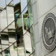 Eine Außenansicht vom Sitz der SEC