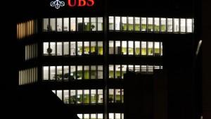 UBS verhakt sich mit Amerika im Steuerstreit