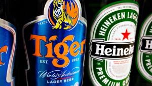"""Heineken will """"Tiger Beer"""" übernehmen"""