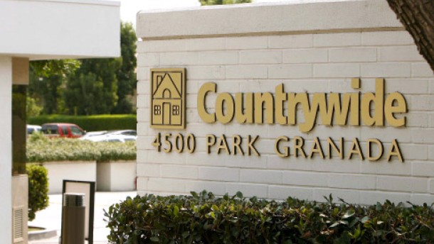 Countrywide flüchtet in die Arme der Bank of America