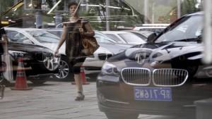 Der Absatz sinkt auf Chinas Automarkt