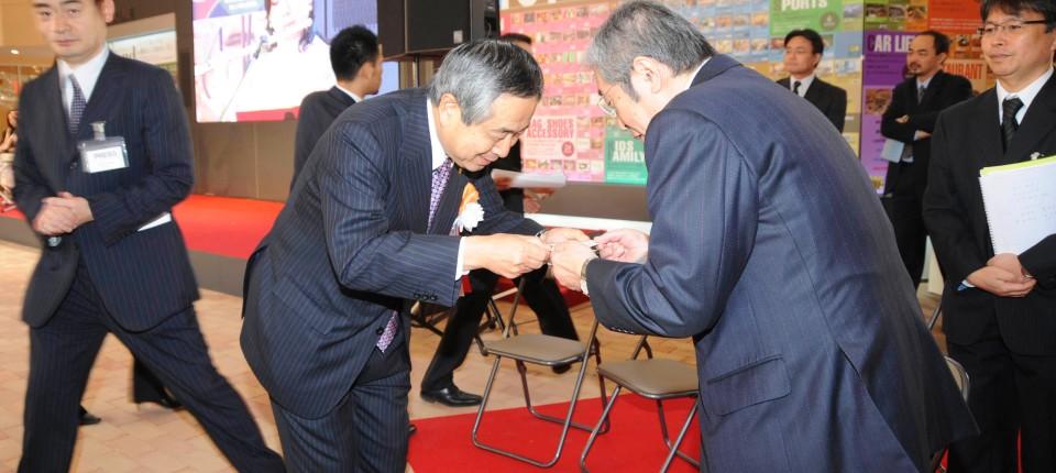 Japan Im Land Der Visitenkarten Büro Co Faz
