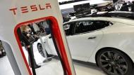 Tesla baut riesige Batteriefabrik in Nevada