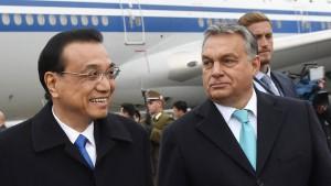 China gewährt Ungarn Entwicklungshilfe