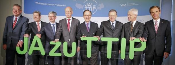 Mächtige Fürsprecher für das Freihandelsabkommen