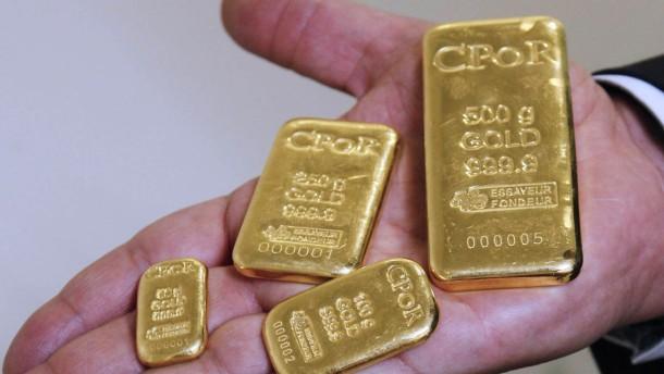 Schuldenkrise macht Gold so wertvoll wie nie