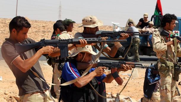 Gaddafi-Gegner sammeln sich neu