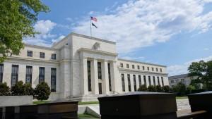 Fed sieht mäßiges Konjunkturtempo