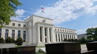 Die amerikanische Notenbank Fed in Washington DC
