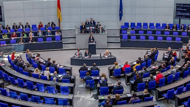 """Rentendebatte im Bundestag: Nahles: """"Historischer Schritt"""", Bartsch: """"Unverschämtheit"""""""