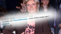 Hetze gegen Claudia Neumann geschmacklos