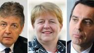 Drei Manager könnten Kanzler werden in Wien