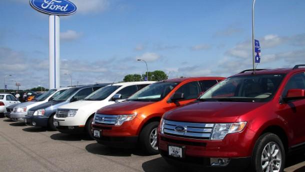 Automarkt schrumpft auf Niveau der Achtziger