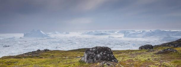 Brennpunkt des Wandels: Illulisat auf Grönland.