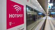 Bahn verspricht Gratis-WLAN in allen ICE noch in diesem Jahr