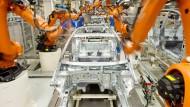 Gibt es nicht umsonst: Industrieroboter aus dem Hause Kuka