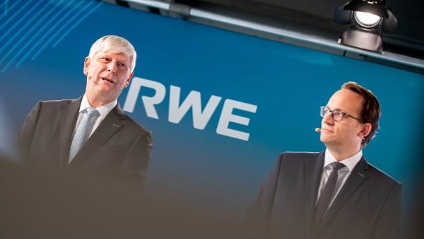 RWE richtet sich mit Ökostrom global aus