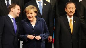 Medwedjew kommt nach Davos