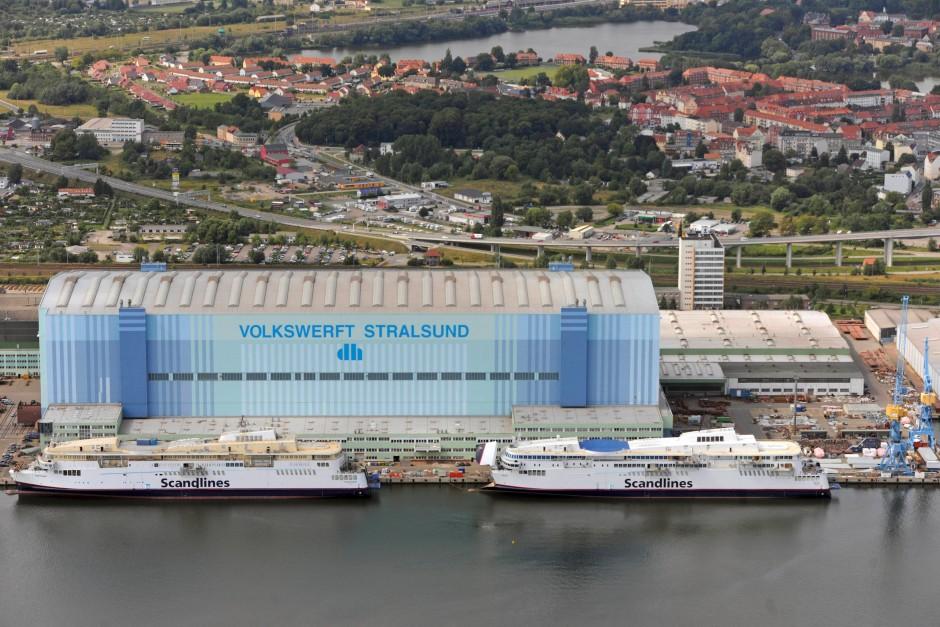 Bild Zu Stralsund Werft Ohne Zukunft Bild 1 Von 1 Faz