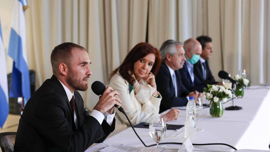 Argentiniens Wirtschaftsminister Martin Guzmán ist zuständig für die Schuldenverhandlungen.