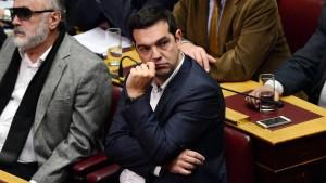 Tsipras vor dem letzten Schritt