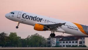 Condor darf keine Thomas-Cook-Fluggäste annehmen