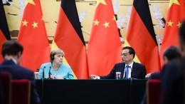 Merkel mahnt friedliche Lösung für Hongkong an