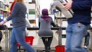 Eine Minderheit in Deutschland: Studierende muslimischen Glaubens.