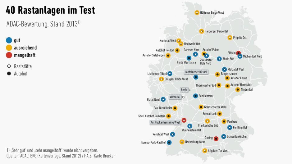 Deutschlands Raststatten Im Grossen Test