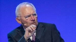 Schäuble: Ja, wir brauchen höhere Investitionen
