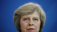 Den Brexit vor Augen: Theresa May