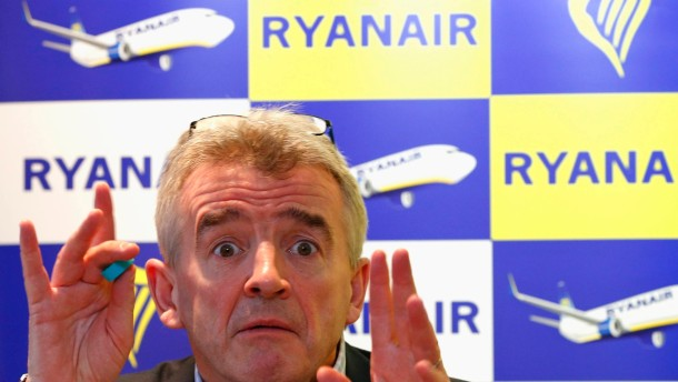 Ryanair macht Millionen-Verlust