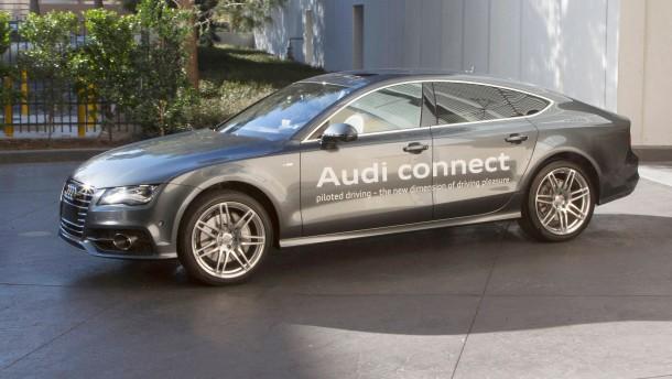 Audi - Pilotiertes Parken
