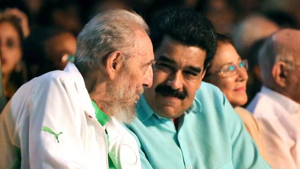 Fidel Castro trägt nun Raubkatze