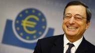 Viel kritisiert, viel gelobt: EZB-Präsident Mario Draghi