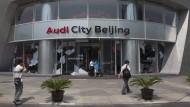 China setzt Millionenstrafe gegen Audi fest