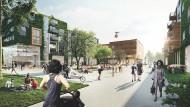 Zukunftsvision: Hier wird das Leben in der Berliner Tegel Smart City schon simuliert.