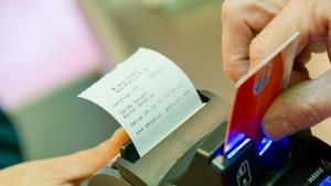 Finanzinvestoren wollen Kreditkarten-Terminal-Unternehmen kaufen