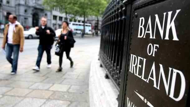 Irland holt sich Staatsgelder von der Bank of Ireland zurück