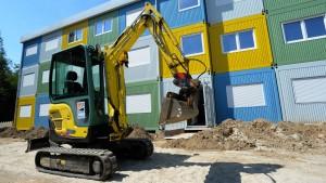 Industrie fordert Bauprogramm für Flüchtlinge