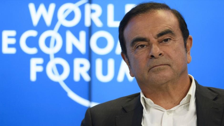 Carlos Ghosn ist der Vorstandsvorsitzende des Autoherstellers Renault.