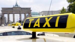 Der nächste Angriff auf die Taxis