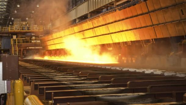 Der Stahl wird knapp