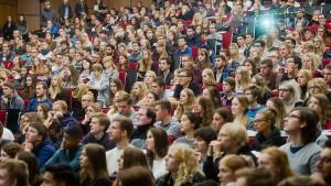 In Deutschland gibt es so viele Studenten wie noch nie