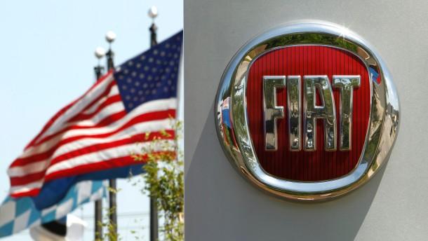 Fiat will Kontrolle über Chrysler ausweiten